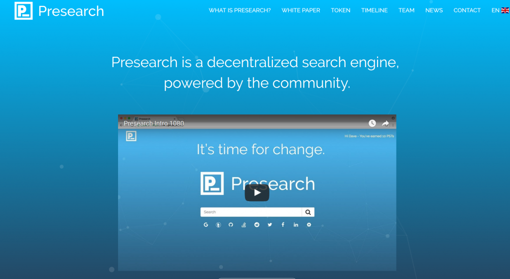 ICO presearch