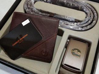 Wallet + Belt Charles Jourdan Paris