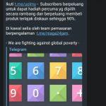 Untuk Subscriber Channel Telegram T.ME/UOLMY Sahaja